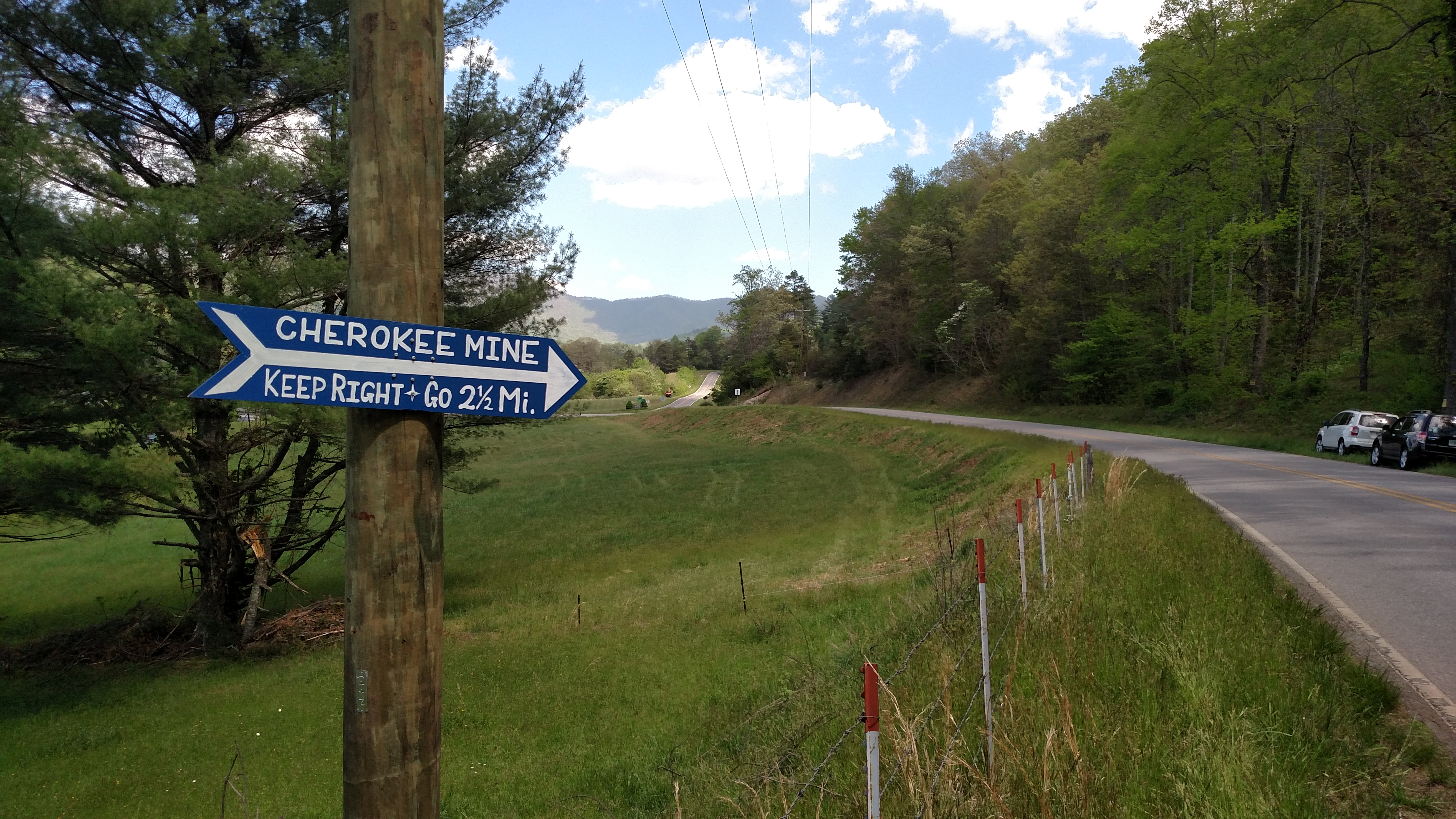 Cherokee Ruby Mine | Unsalted Mining in Cowee Valley North
